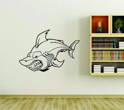 Shark Version 101 Vinyl Wall Decal Sticker - ezwalldecals  - vinyl decal - vinyl sticker - decals - stickers - wall decal - jdm decal - vinyl stickers - vinyl decals - 1