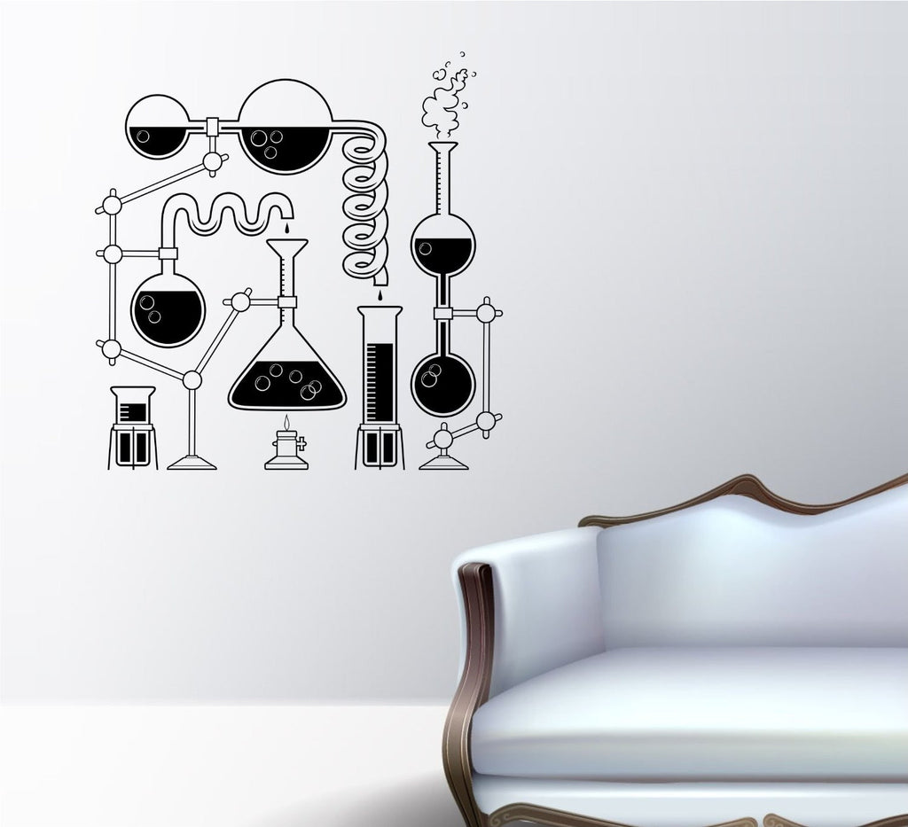 ez wall decals science beaker set scientist beakers ezwalldecals vinyl decal vinyl sticker decals