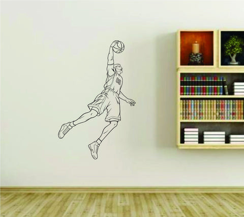 Basketball Player Version 104 Sports Vinyl Wall Decal Sticker - ezwalldecals  - vinyl decal - vinyl sticker - decals - stickers - wall decal - jdm decal - vinyl stickers - vinyl decals - 1
