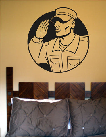 Soldier Version 101 Military Vinyl Wall Decal Sticker - ezwalldecals  - vinyl decal - vinyl sticker - decals - stickers - wall decal - jdm decal - vinyl stickers - vinyl decals - 1