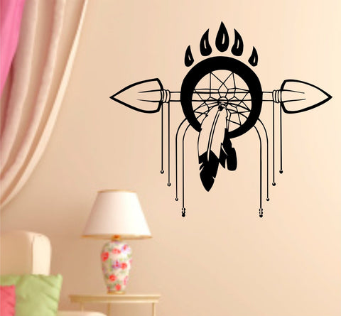 Dreamcatcher Version 101 Dream Catcher Vinyl Decal Sticker - ezwalldecals  - vinyl decal - vinyl sticker - decals - stickers - wall decal - jdm decal - vinyl stickers - vinyl decals - 1