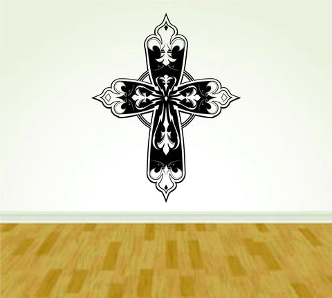 Tribal Cross Version 101 Vinyl Wall Decal Sticker - ezwalldecals  - vinyl decal - vinyl sticker - decals - stickers - wall decal - jdm decal - vinyl stickers - vinyl decals - 1