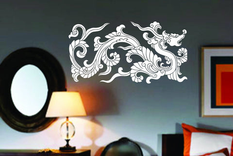 Chinese Tribal Dragon Wall Decal Sticker Mural Art Graphic Dragon Kid Boy - ezwalldecals vinyl decal - vinyl sticker - decals - stickers - wall decal - jdm decal - vinyl stickers - vinyl decals - 1