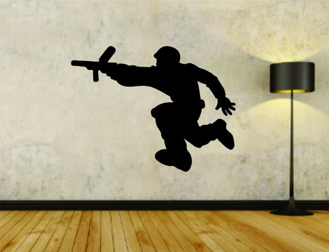 Paintball Paintballer Man Version 105 Vinyl Wall Decal Sticker - ezwalldecals  - vinyl decal - vinyl sticker - decals - stickers - wall decal - jdm decal - vinyl stickers - vinyl decals - 1