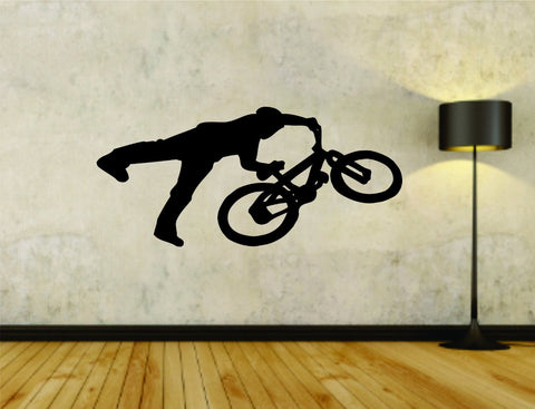 Bmx Rider Bike Bicycle Version 101 Vinyl Wall Decal Sticker - ezwalldecals  - vinyl decal - vinyl sticker - decals - stickers - wall decal - jdm decal - vinyl stickers - vinyl decals - 1