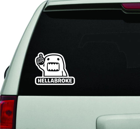 Hellabroke JDM Car Truck Window Windshield Lettering Decal Sticker - ezwalldecals vinyl decal - vinyl sticker - decals - stickers - wall decal - jdm decal - vinyl stickers - vinyl decals - 1