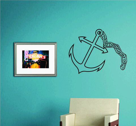 Anchor Version 105 Wall Decal Sticker Family Art Graphic Home Decor Mural Decal - ezwalldecals  - vinyl decal - vinyl sticker - decals - stickers - wall decal - jdm decal - vinyl stickers - vinyl decals - 1