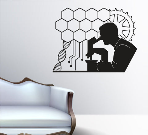 Biomedical Engineer BME Vinyl Wall Decal Sticker - ezwalldecals vinyl decal - vinyl sticker - decals - stickers - wall decal - jdm decal - vinyl stickers - vinyl decals - 1
