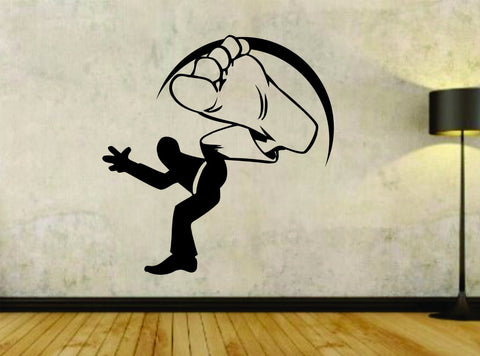 Martial Arts Karate Master MMA Man Version 102 Vinyl Wall Decal Sticker Car - ezwalldecals vinyl decal - vinyl sticker - decals - stickers - wall decal - jdm decal - vinyl stickers - vinyl decals - 1