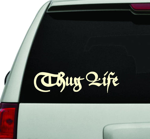 Thug Life Version 101 JDM Car Truck Window Windshield Lettering Decal Sticker... - ezwalldecals vinyl decal - vinyl sticker - decals - stickers - wall decal - jdm decal - vinyl stickers - vinyl decals - 1
