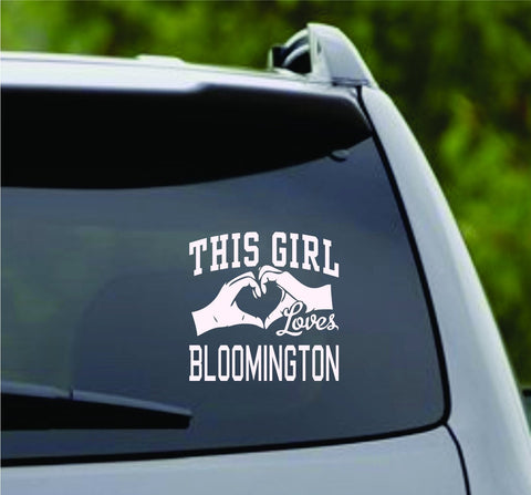 This Girl Loves Bloomington Decal Sticker Car Window Truck Laptop - ezwalldecals vinyl decal - vinyl sticker - decals - stickers - wall decal - jdm decal - vinyl stickers - vinyl decals - 1