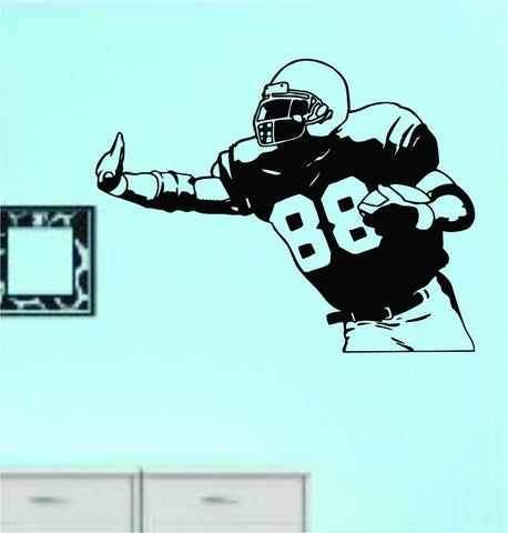 Football Player Version 118 Vinyl Wall Decal Sticker Art Sports Kid Children - ezwalldecals  - vinyl decal - vinyl sticker - decals - stickers - wall decal - jdm decal - vinyl stickers - vinyl decals - 1