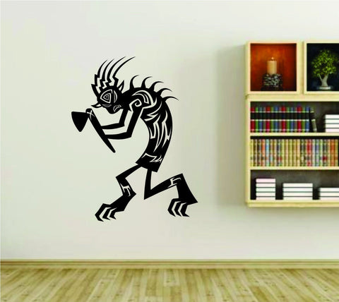 Native American Kokopelli Indian Vinyl Wall Decal Sticker - ezwalldecals  - vinyl decal - vinyl sticker - decals - stickers - wall decal - jdm decal - vinyl stickers - vinyl decals - 1