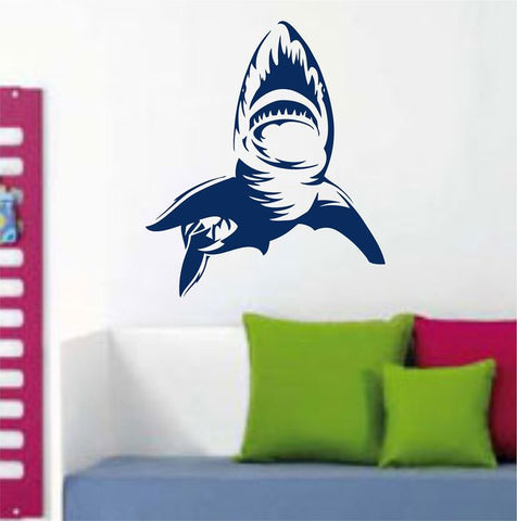 Shark Version 101 Decal Sticker Wall Art Graphic Fish Ocean Scuba Dive - ezwalldecals vinyl decal - vinyl sticker - decals - stickers - wall decal - jdm decal - vinyl stickers - vinyl decals - 1