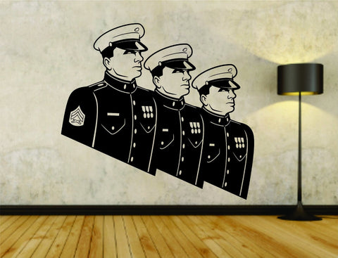 USA Soldiers Soldier Military Marines Version 105 Vinyl Wall Decal Sticker - ezwalldecals  - vinyl decal - vinyl sticker - decals - stickers - wall decal - jdm decal - vinyl stickers - vinyl decals - 1