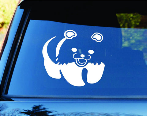 Panda Bear Version 101 Car Truck Window Windshield - ezwalldecals vinyl decal - vinyl sticker - decals - stickers - wall decal - jdm decal - vinyl stickers - vinyl decals - 1