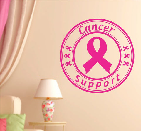 Breast Cancer Support Vinyl Wall Decal Sticker Wall Boy Girl Teen Child Decal... - ezwalldecals vinyl decal - vinyl sticker - decals - stickers - wall decal - jdm decal - vinyl stickers - vinyl decals - 1