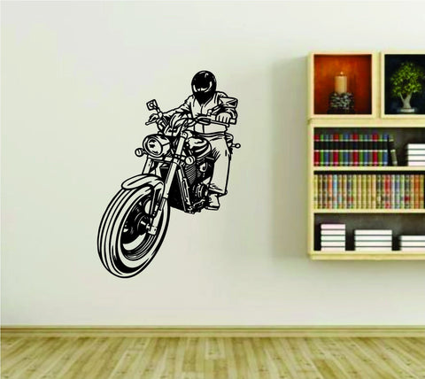 Biker Riding Motorcycle Bike Club Vinyl Wall Decal Sticker Car Window - ezwalldecals vinyl decal - vinyl sticker - decals - stickers - wall decal - jdm decal - vinyl stickers - vinyl decals - 1