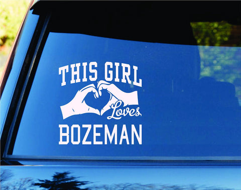 This Girl Loves Bozeman Decal Sticker Car Window Truck Laptop - ezwalldecals vinyl decal - vinyl sticker - decals - stickers - wall decal - jdm decal - vinyl stickers - vinyl decals - 1