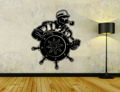 Dockworker Dock Longshoreman Union Nautical Logo Version 101 Vinyl Decal Sticker - ezwalldecals  - vinyl decal - vinyl sticker - decals - stickers - wall decal - jdm decal - vinyl stickers - vinyl decals - 1