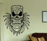 Tiki Skull Decal Sticker Wall Mural Art Graphic Vintage Baby Nursery Office - ezwalldecals  - vinyl decal - vinyl sticker - decals - stickers - wall decal - jdm decal - vinyl stickers - vinyl decals - 1