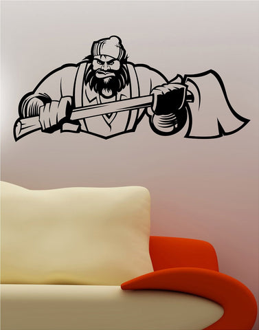 Lumberjack Wall Vinyl Decal Sticker Art Graphic Sticker Ax Man - ezwalldecals vinyl decal - vinyl sticker - decals - stickers - wall decal - jdm decal - vinyl stickers - vinyl decals - 1