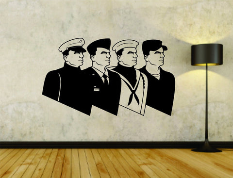 USA Soldiers Soldier Military Vinyl Wall Decal Sticker - ezwalldecals  - vinyl decal - vinyl sticker - decals - stickers - wall decal - jdm decal - vinyl stickers - vinyl decals - 1