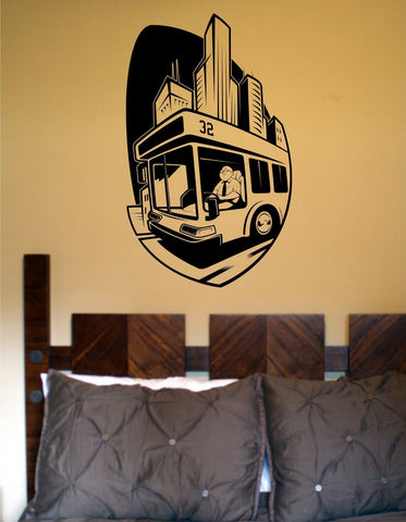 Bus Driver Vinyl Wall Decal Sticker Car Window Truck Decals Stickers Quote - ezwalldecals  - vinyl decal - vinyl sticker - decals - stickers - wall decal - jdm decal - vinyl stickers - vinyl decals - 1