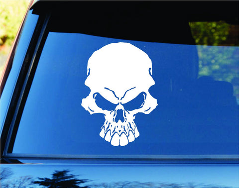 Skull Car Truck Window Windshield Lettering Decal Sticker - ezwalldecals vinyl decal - vinyl sticker - decals - stickers - wall decal - jdm decal - vinyl stickers - vinyl decals - 1