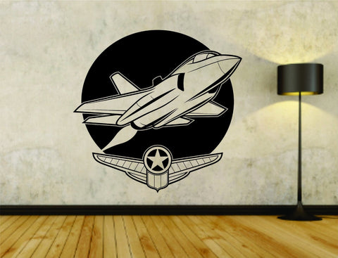 Military Plane Fighter Jet Version 102 Vinyl Wall Decal Sticker - ezwalldecals  - vinyl decal - vinyl sticker - decals - stickers - wall decal - jdm decal - vinyl stickers - vinyl decals - 1