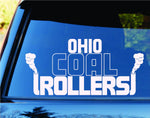 Ohio Coal Rollers Diesel State Car Truck Window Windshield Decal Sticker - ezwalldecals vinyl decal - vinyl sticker - decals - stickers - wall decal - jdm decal - vinyl stickers - vinyl decals - 1