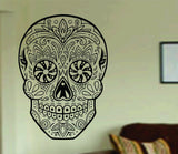 Sugarskull Version 20 Wall Vinyl Decal Sticker Sugar Skull - ezwalldecals  - vinyl decal - vinyl sticker - decals - stickers - wall decal - jdm decal - vinyl stickers - vinyl decals - 1