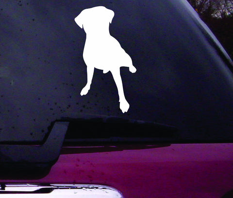 Dog Decal Sticker Vinyl Decal Sticker Art Graphic Stickers Laptop Car Window - ezwalldecals vinyl decal - vinyl sticker - decals - stickers - wall decal - jdm decal - vinyl stickers - vinyl decals - 1