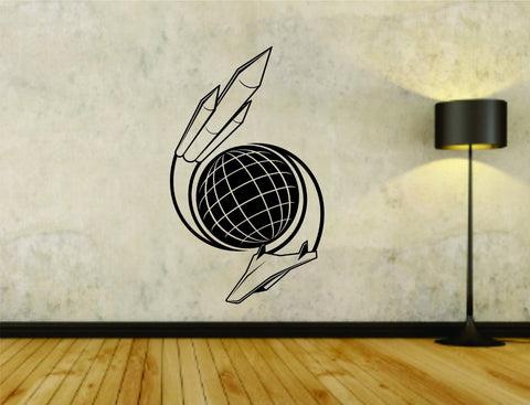 Aerospace Nasa Logo Space Spachship Rockets Rocket Vinyl Decal Sticker - ezwalldecals  - vinyl decal - vinyl sticker - decals - stickers - wall decal - jdm decal - vinyl stickers - vinyl decals - 1