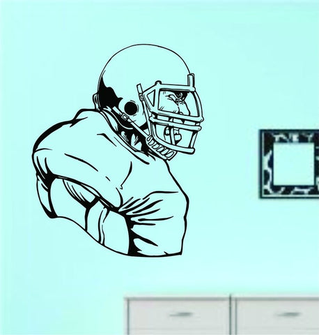 Football Player Version 117 Vinyl Wall Decal Sticker - ezwalldecals  - vinyl decal - vinyl sticker - decals - stickers - wall decal - jdm decal - vinyl stickers - vinyl decals - 1