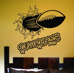 New England City Football Ripping Bursting Through... - ezwalldecals vinyl decal - vinyl sticker - decals - stickers - wall decal - jdm decal - vinyl stickers - vinyl decals - 1