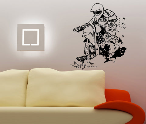 Dirtbike Rider MX X Games Version 109 Decal Sticker Wall Motocross - ezwalldecals  - vinyl decal - vinyl sticker - decals - stickers - wall decal - jdm decal - vinyl stickers - vinyl decals - 1