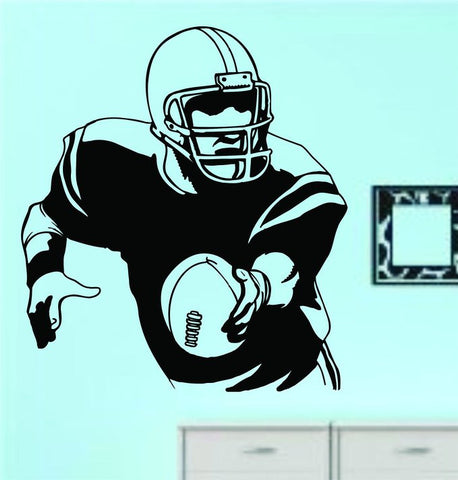 Football Player Version 115 Quarterback Vinyl Wall Decal Sticker Art Sports - ezwalldecals vinyl decal - vinyl sticker - decals - stickers - wall decal - jdm decal - vinyl stickers - vinyl decals - 1