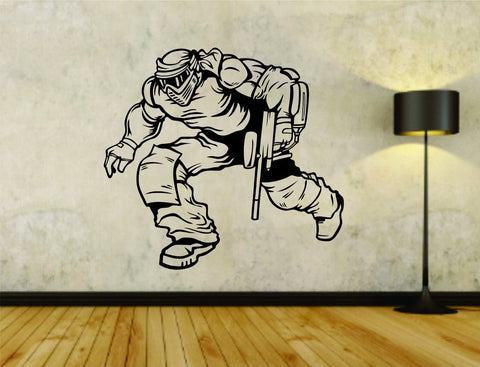 Paintball Paintballer Man Version 104 Vinyl Wall Decal Sticker - ezwalldecals vinyl decal - vinyl sticker - decals - stickers - wall decal - jdm decal - vinyl stickers - vinyl decals - 1