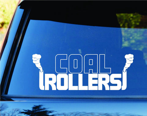 Coal Rollers Diesel Car Truck Window Windshield Lettering - ezwalldecals vinyl decal - vinyl sticker - decals - stickers - wall decal - jdm decal - vinyl stickers - vinyl decals - 1