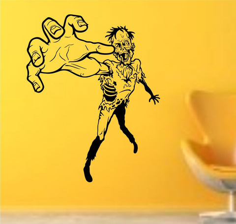 Zombie Man Wall Decal Sticker Wall Vinyl Mural Walking Dead - ezwalldecals  - vinyl decal - vinyl sticker - decals - stickers - wall decal - jdm decal - vinyl stickers - vinyl decals - 1