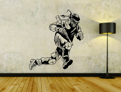 Paintball Paintballer Man Version 102 Vinyl Wall Decal Sticker - ezwalldecals  - vinyl decal - vinyl sticker - decals - stickers - wall decal - jdm decal - vinyl stickers - vinyl decals - 1