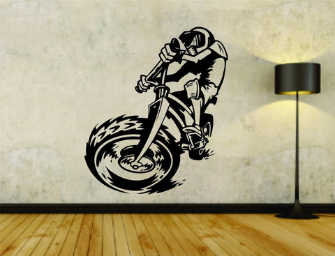 BMX Bike Rider Biking Extreme Trick Version 101 Vinyl Wall Decal Sticker - ezwalldecals  - vinyl decal - vinyl sticker - decals - stickers - wall decal - jdm decal - vinyl stickers - vinyl decals - 1