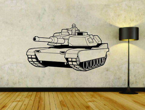 Military Tank Tanks Army War Vinyl Wall Decal Sticker - ezwalldecals  - vinyl decal - vinyl sticker - decals - stickers - wall decal - jdm decal - vinyl stickers - vinyl decals - 1
