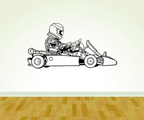 Go Cart Go Carting Racing Version 101 Vinyl Wall Decal Sticker Art Sports - ezwalldecals vinyl decal - vinyl sticker - decals - stickers - wall decal - jdm decal - vinyl stickers - vinyl decals - 1