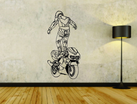Motorcycle Streetbike Version 105 Vinyl Wall Decal Sticker - ezwalldecals  - vinyl decal - vinyl sticker - decals - stickers - wall decal - jdm decal - vinyl stickers - vinyl decals - 1