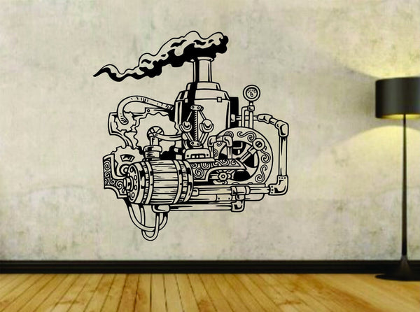 Steampunk Gears Gear Design Vinyl Wall Decal Sticker Car Window Truck Decals ... - ezwalldecals vinyl decal - vinyl sticker - decals - stickers - wall decal - jdm decal - vinyl stickers - vinyl decals - 1