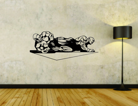 MMA Cagefighter Cage Fighting Jiu Jitsu Vinyl Wall Decal Sticker - ezwalldecals  - vinyl decal - vinyl sticker - decals - stickers - wall decal - jdm decal - vinyl stickers - vinyl decals - 1