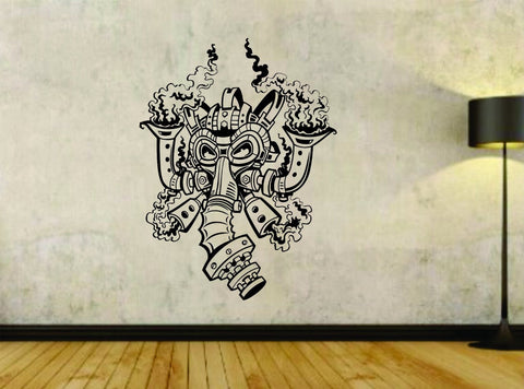 Steampunk Gasmask Design Vinyl Wall Decal Sticker - ezwalldecals vinyl decal - vinyl sticker - decals - stickers - wall decal - jdm decal - vinyl stickers - vinyl decals - 1