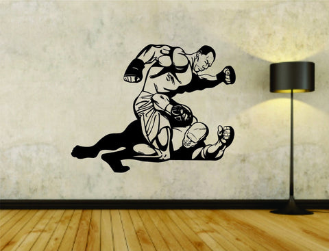 MMA Cagefighter Cage Fighting Jiu Jitsu Version 101 Vinyl Wall Decal Sticker - ezwalldecals  - vinyl decal - vinyl sticker - decals - stickers - wall decal - jdm decal - vinyl stickers - vinyl decals - 1